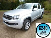 2014 Volkswagen Amarok 2.0BiTDi 180 Trendline 4MOTION Sel Double Cab 4x4 Pick Up