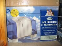 Allergies?  view this Large-volume Humidifier & air purifier