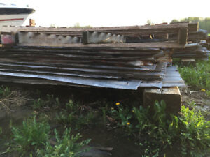 RUSTIC METAL SHEETS FOR SALE