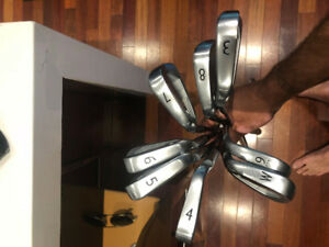 Like New - Left Handed Ping S55 Black Dot Irons 3-PW