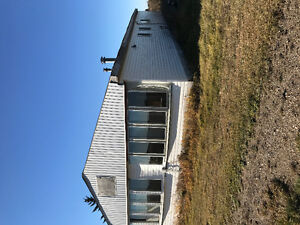 9 acres with older house