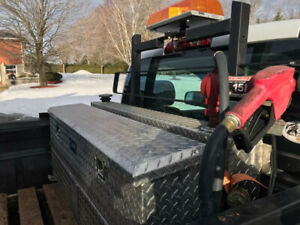 Truck Toolbox with Fuel Cell / Pump