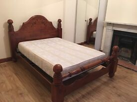 CLEAN KING SIZE DOUBLE ROOM & VERY LARGE SINGLE ROOM TO LET