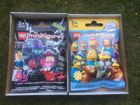 Two gigantic Lego Minifigures shop display packets. Brand new, still in the box