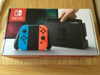 NEW BOXED NINTENDO SWITCH CONSOLE
