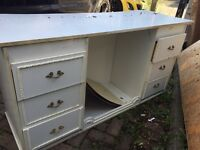FREE 6 chest of drawers plus space for stool