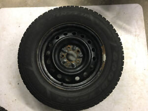 Nissan Snow Tires and Rims