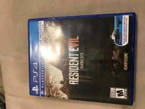 Resident Evil 7 for PS4 - 30.00