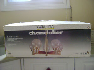 CHANDELIER AND BATHROOM VANITY LIGHT Sarnia Sarnia Area image 1