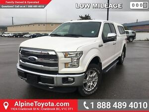 2015 Ford F-150 LARIAT   Navigation, heated leather power seats,