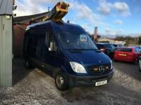 MERCEDES-BENZ SPRINTER 2.1 513 CDI CHERRY PICKER ACCESS PLATFORM FINANCE PX