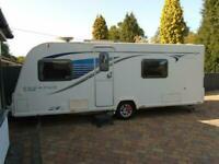Bailey Pegasus Verona GT65, 4 Berth Caravan, washing department stretching the