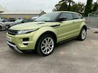 2013 Land Rover Range Rover Evoque SD4 DYNAMIC Auto Coupe Diesel Automatic