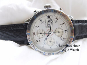 Longines Chronograph, Day, Date, Mint Cosmetic&Mechanical Order