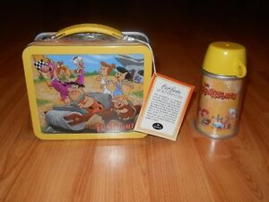 The Flintstones School Days Lunchbox with Thermos by Hallmark