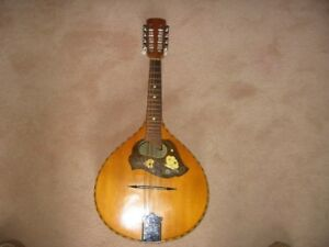 MANDOLIN Rare German Weltton