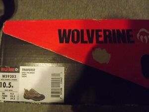 Wolverine Traverse Steel-Toe Hiker