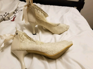 New Lace Wedding Shoes