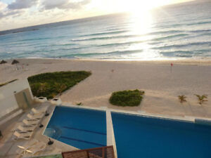 RENOVATED BEACHFRONT CANCUN CONDO IN CLUB ZONE