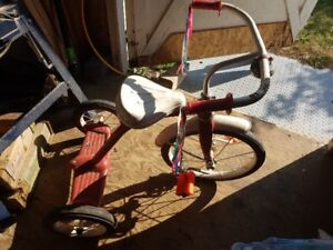 Kids bike and tricycle