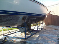 MARINE ANTIFOULING PAINT PROFESSIONALLY REMOVED