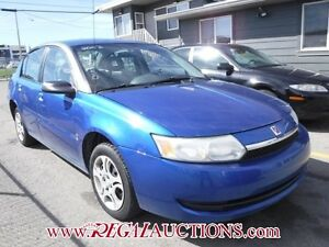 2003 SATURN ION MIDLEVEL 4D SEDAN