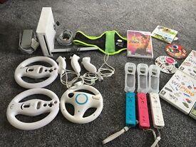 Wii console bundle. Bargain