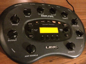 Line 6 Bass Pod, Ultimate tone for Bass