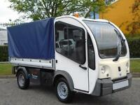 2010/ 10 Mega E-worker Lwb Electric 2012 11.5KW Dropside Caged sides Low Hours