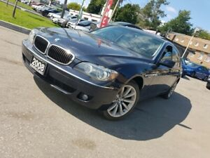 2008 BMW 7 Series 4dr Sdn 750Li Luxury Car Navi , SunRoof, Leath