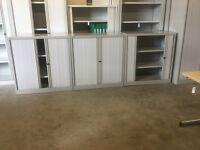 Bisley half tambour cabinet