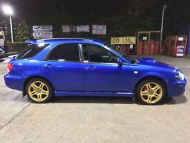 Subaru Impreza wrx wagon FSH BLUE CLEAN