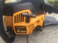 McCullough 438 chainsaw £50