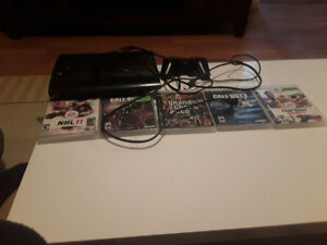 PS 3 5 games 1 hdmi 1 charger 1 controller and the power chord