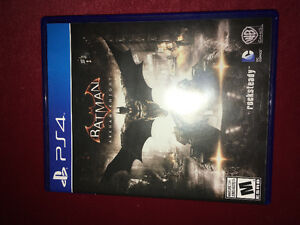 Trading my batman arkham knight PS4
