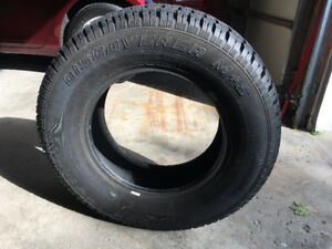Cooper Discoverer M+S Winter Tires-  On road less than 1 month