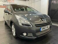 2012 Peugeot 5008 1.6 e-HDi FAP Active EGC 5dr MPV Diesel Automatic