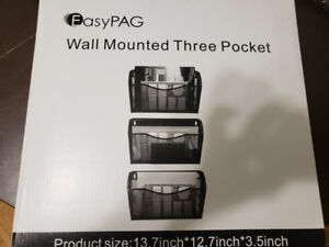 PAG 3 Pockets Hanging File Holder Organizer ($25, Bought at $70)