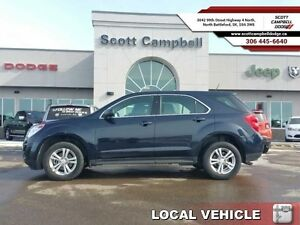 2015 Chevrolet Equinox LS   - local - trade-in - sk tax paid - B