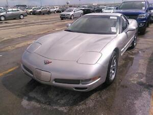 2004 Chevrolet Corvette Z06 Fixed Roof Coupe Hardtop Low Kms