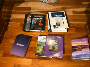 First Year University of Windsor Science Textbooks