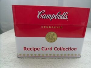 CAMPBELL'S SOUP Recipe Card Collection In A Hinged Box.
