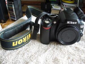 NIKON D60 (BODY ONLY):  $ 140.00