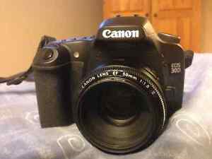 Canon 30D with 50mm lens