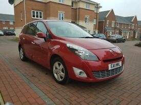 Renault Scenic 1.5 dCi 110 Stop and Start (red) 2011
