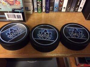 Hockey pucks !