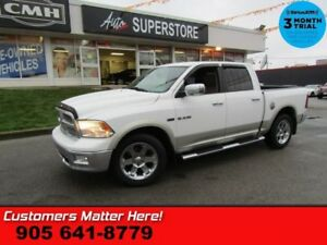 2010 Dodge Ram 1500 Laramie  4X4 CREW HEMI LEATHER HS P/SEATS CH