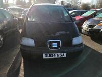 2004 Seat Alhambra 1.9TDi PD tiptronic SE - 8 Service Stamps + Invoices - 2 Keys