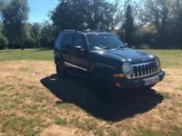 2006 56 REG Jeep Cherokee 2.8CRD 4X4 Auto Limited ( 161bhp )