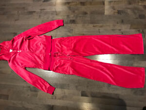 "Custom bridal matching hot pink ""Wifey"" tracksuit"
